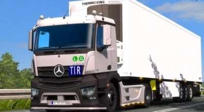 ETS 2 — Mercedes-Benz Antos 12 | ETS2 моды