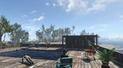 Fallout 4 — Построй свой бассейн! | Fallout 4 моды