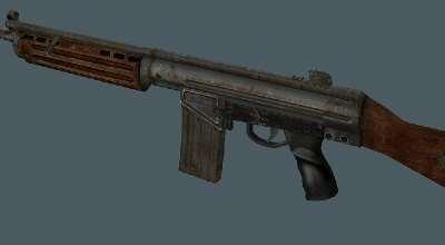 Fallout 3 — US Assault Rifle Retexture | Fallout 3 моды