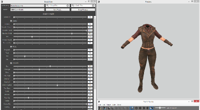Fallout 4 — BodySlide и Outfit Studio 4.2.3 | Fallout 4 моды