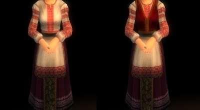 Oblivion — Фольклорные платья (Folklore Dress) | Oblivion моды