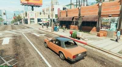 GTA 5 — Больше людей и машин (More pedestrians and traffic) | GTA 5 моды
