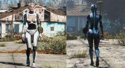 Fallout 4 — Броня Киборга | Fallout 4 моды