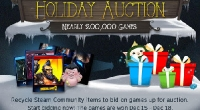 Valve возобновили работу «Праздничного аукциона»