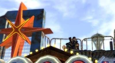 Fallout New Vegas — Патрульный рейнджер на вывеске | Fallout New Vegas моды