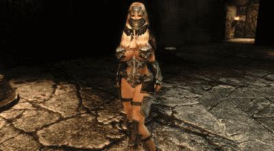 Skyrim — Бикини-реплейсер оригинальной брони | Skyrim моды