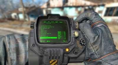 Fallout 4 — Серый пип-бой | Fallout 4 моды