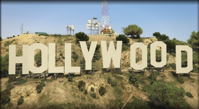 GTA 5 — Замена «Вайнвуда» (Hollywood Sign) | GTA 5 моды
