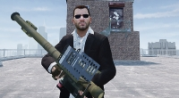 GTA 4 —  Огромная пушка FIM-92 Stinger | GTA 4 моды