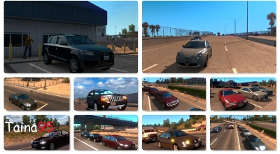 ATS — Новые реальные автомобили в трафик | American Truck Simulator моды