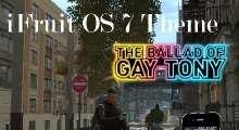 GTA IV — iPhone OS 7 theme | GTA 4 моды