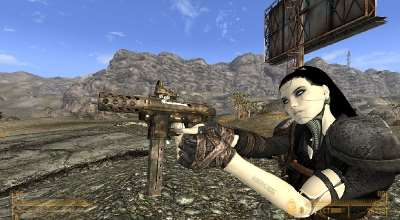 Fallout NV — Intratec TEC-9 | Fallout New Vegas моды