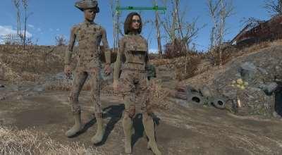 Fallout 4 — Камуфляжные комбинезоны   Fallout 4 моды