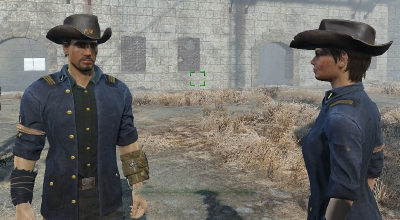 Fallout 4 — Реплейсер одежды Минитменов | Fallout 4 моды