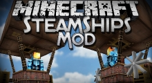 Minecraft — Паровой дирижабль для 1.7.10/1.7.2/1.6.4/1.5.2 | Minecraft моды