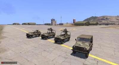 Arma 3 — Модели «УАЗиков» (HAFM UAZ Cars) | Arma 3 моды