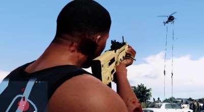 GTA 5 — Новое оружие MTAR-21 (Battlefield 4 MTAR-21) | GTA 5 моды