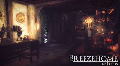 Skyrim — Breezehome by Lupus / Дом теплых ветров by Lupus | Skyrim моды