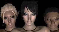 Dragon Age: Origins — Новые прически, лица и глаза   Dragon Age моды