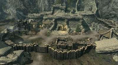 Skyrim — Волчий лагерь (дом-крепость для игрока) | Skyrim моды