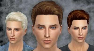 Sims 4 — Стильная мужская прическа Nicholas Hairstyle | The Sims 4 моды