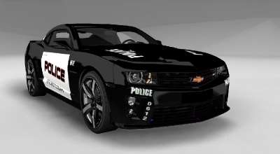 BeamNG DRIVE — Chevrolet Camaro Police