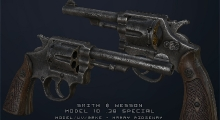 Fallout NV — Smith and Wesson M10 38 special | Fallout New Vegas моды