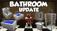 Minecraft 1.7.2 — MrCrayfish's Furniture: Bathroom Update | Minecraft моды