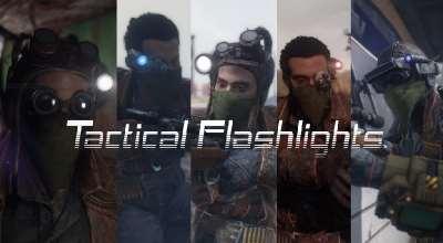 Fallout 4 — Тактические фонари | Fallout 4 моды