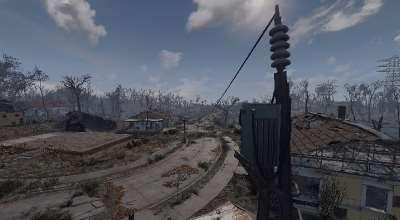 Fallout 4 — Более длинные провода при строительстве (Longer Power Lines) | Fallout 4 моды
