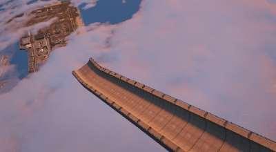 GTA 5 — Небесный трамплин (Twisted Ramp) | GTA 5 моды