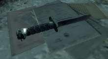Fallout 3 — Нож из S.T.A.L.K.E.R. | Fallout 3 моды