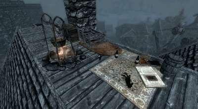 Skyrim — Жизнь на крыше Рифтена | Skyrim моды