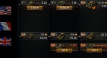 World of Tanks 0.8.6 ТЕСТ — горизонтальное дерево развития | World Of Tanks моды