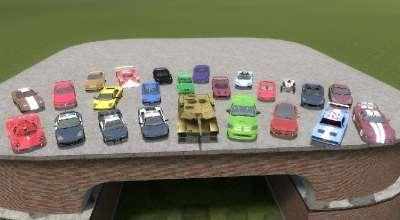 Garry's Mod 13 — Пак Автомобилей для Scars   Garrys mod моды