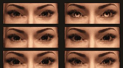 Skyrim — 50 новых глаз для людей   Skyrim моды