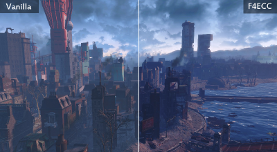Fallout 4 — Коррекция цвета | Fallout 4 моды