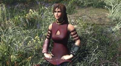 Fallout 4 — Наряд Асока Тано из Звездных Войн | Fallout 4 моды