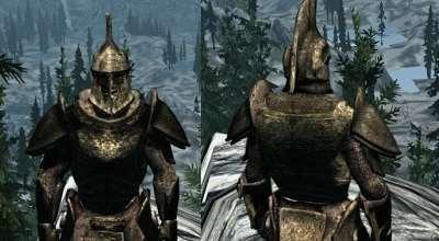 Skyrim — Unique Ancient Dwarven Armor — Уникальная древняя двемерская броня | Skyrim моды