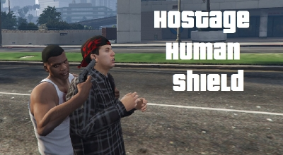 GTA 5 — Живой щит (Hostage Human Shield) | GTA 5 моды