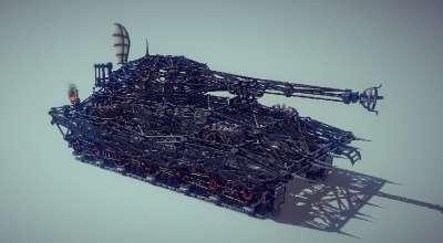 Besiege — Тяжелый танк | Besiege моды