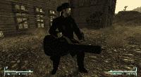 Fallout New Vegas — Миниган из чехла для гитары | Fallout New Vegas моды