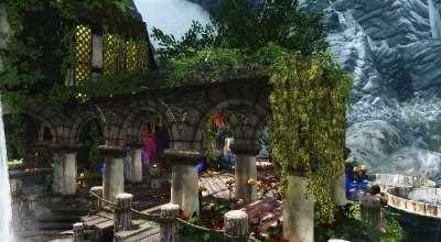 Skyrim — Деитвен — дом в стиле Ведьмака | Skyrim моды