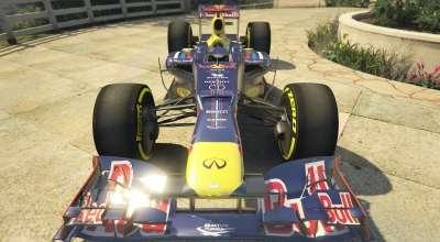 GTA 5 — Red Bull F1 | GTA 5 моды