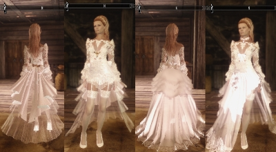 Skyrim — Свадебный наряд | Skyrim моды