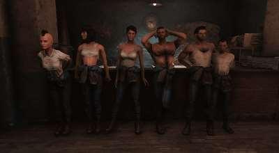 Fallout 4 — Альтернативные костюмы убежищ | Fallout 4 моды