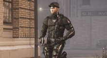 GTA IV — Скин Сэма Фишера | GTA 4 моды