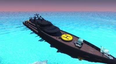 Garrys Mod — Супер яхта | Garrys mod моды