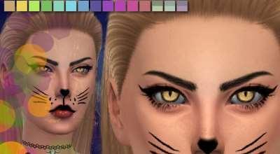 Sims 4 — Кошачьи глаза | The Sims 4 моды