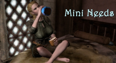 Skyrim — Мини потребности / MiniNeeds | Skyrim моды